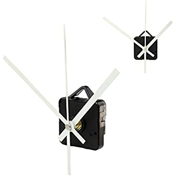 Tonsee High Quality Quartz Clock Movement Mechanism with Hook DIY