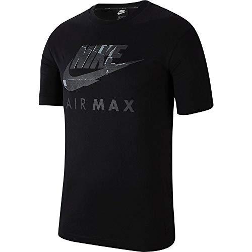 Nike Air Max T-Shirt à Manches Courtes pour Homme - Noir - X-Large