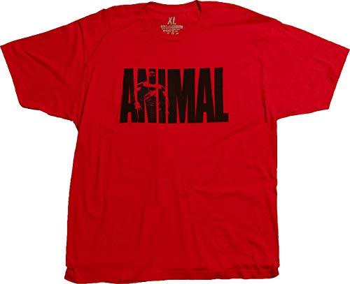 Animal Iconic M-Stak Premium Tee, Rot, Größe XL