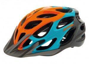 Fahrradhelm Alpina Mythos 2.0 MTB Gr. M (52-57cm) orange/blau/titanium by Alpina