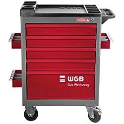 Carro de taller de WGB Das Werkzeug, Rojo