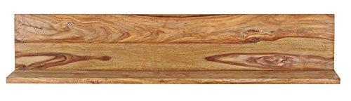 Wohnwand Anbauwand 'Indian Summer' Sheesham massiv gebeizt Holz - 4