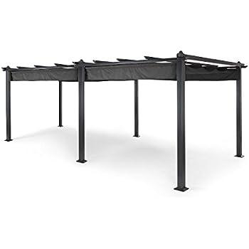 solidpremium 500x350 cm bxt alu terrassen berdachung anthrazit 16mm 3 fach stegplatten. Black Bedroom Furniture Sets. Home Design Ideas