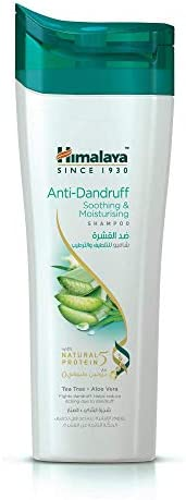 Himalaya Anti Dandruff Soothing and Moisturizing Shampoo - 400 ml with Tea Tree and Aloe Vera actives
