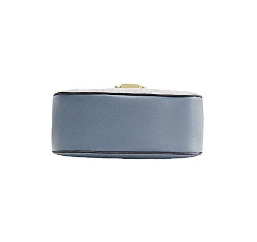 Moda Borsa Mini Borsa A Tracolla Messenger Bag Borsa Selvaggia Tempo Libero Selvaggio Ambiente Semplice Blue