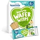 Heavenly Wafer Wisps - Spinach Apple & Kale Caja 84 G