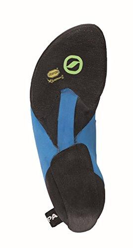 Scarpa Chimera Kletterschuhe gelb blau schwarz
