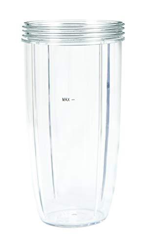 Nutribullet NBM-VE007RV Vaso Alto, Transparente