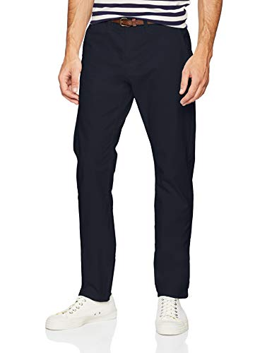 TOM TAILOR Herren Essential Chino Hose, Blau (Outer Space Blue 11914), W29/L32 - Five-pocket-stretch-twill