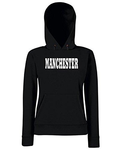 T-Shirtshock - Sweats a capuche Femme WC0702 MANCHESTER Noir