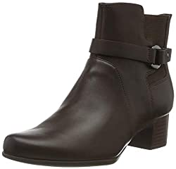 Clarks Damen Un Damson Mid Stiefeletten, Braun (Brown Leather Brown Leather), 39 EU