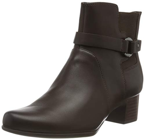 Clarks Un Damson Mid, Botines para Mujer, Marrón Brown Leather, 42 EU