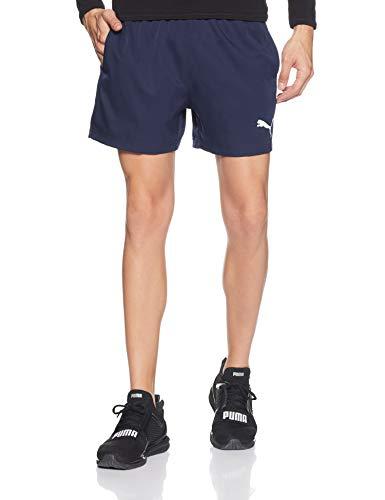 Puma Active Woven 5` Pants, Hombre, Peacoat, M