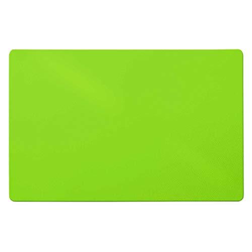 Trendige Bodenschutzmatte für Hartböden   PVC- und phthalatfrei   Hellgrün   Größe wählbar (120 x 75 cm)