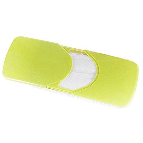 Preisvergleich Produktbild Papierserviette Box - SODIAL(R)Auto Zubehoer Auto Sonnenblende Auto Papiertaschentuch Box Deckelhalter Papierserviette Box (Gruen)