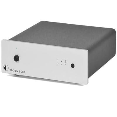 Pro-Ject DAC Box S USB Convertitore D/A, Argento ai migliori prezzi su Polaris Audio Hi Fi