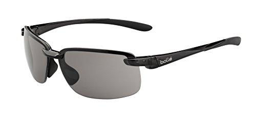 bollé Erwachsene Flyair Sonnenbrille, Shiny Black, Medium