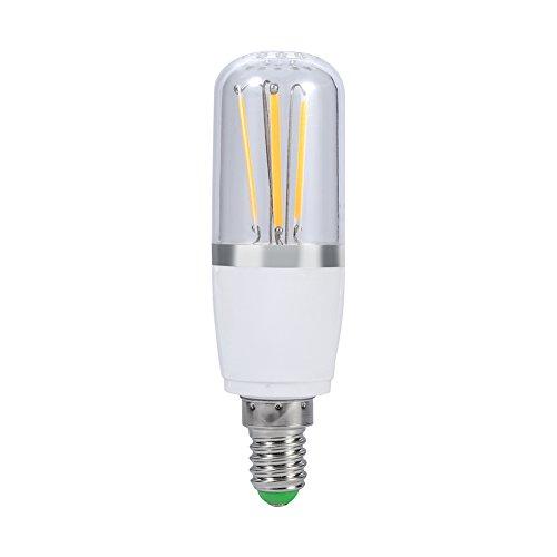 LED-Leuchtmittel, 12V, Sockel E14LED-Energiesparlampe, Kronleuchter, Hängelampe, Lampe im Vintage-Stil, Warm White 3w, E14, 3.0W 12.0V