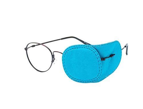 ericotry 6Eye Patch-Amblyopia Eye Patches zu Behandeln Amblyopie Schielen Lazy Eye Patch Sehschärfe Recovery für Kinder Keine Hautirritationen zu Kinder Haut, blau