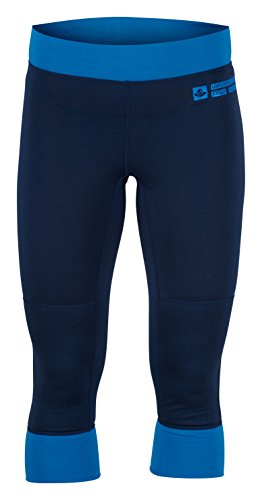 Sweet Protection Damen Pants Alpine 3/4 17,5/200 Blue, S (Ski Carbon Freeride)