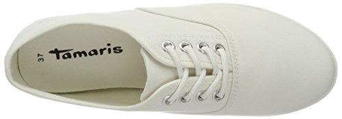 Tamaris 23609, Sneakers Basses Femme Blanc (WHITE 100)