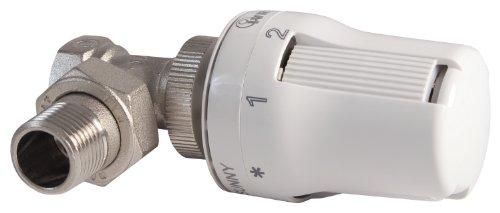 Thermostat-Komplett-Set Eckform | Heizkörper | Heizung | 1/2 Zoll