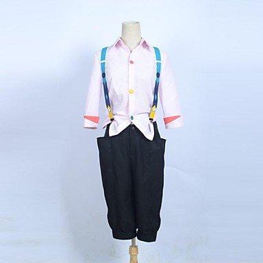 Juuzou Kostüm Cosplay Suzuya - Sunkee Tokyo Ghoul Juuzou Suzuya Cosplay Kostüme,Maßgeschneidert ( Bitte geben Sie uns Ihr Gewicht, Höhe, Breite, Brust, Taille und Hüfte) (L: 165-170cm, Juuzou Suzuya Cosplay)