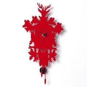 Rot Cucu Uhr