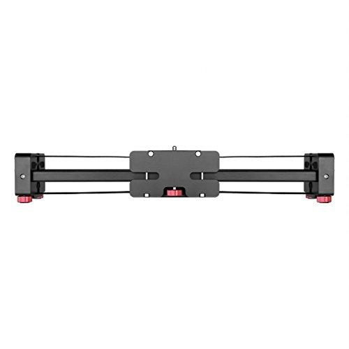 ZHAODONG Micro Film FT-52 Portable 48cm / 102cm (installiert auf Stativ) Gleitschiene Track for DSLR/SLR-Kameras/Videokameras (schwarz) (Farbe : Black)
