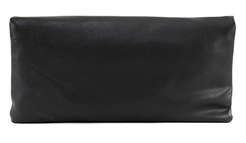 Fritzi aus Preußen FAP-FS-17-66, Borsa a tracolla Donna, 2x30x30 cm (B x H x T) Nero (Black6)