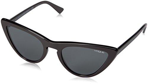 Vogue 0vo5211s w44/87 54, occhiali da sole donna, nero (black/gray)