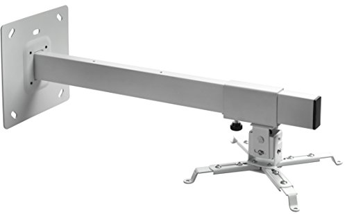 Celexon Beamer-Wandhalterung MultiCel WM600 Wandabstand bis 60 cm, weiß