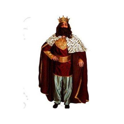 Imagen de disfrazzes  disfraz de rey mago rojo  traje de rey mago