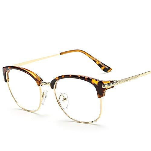MINGMOU Flache Gläser Neue Flache Spiegel Koreanische Version des Brillengestells In Der Nähe Von Brillengestell Flachlicht, 3