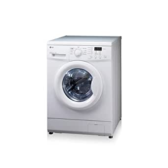 Lg F12560QD - LG Direct Drive F12560QD - Machine à laver - pose libre - chargement frontal - 7 kg - 1200 tours/min - blanc