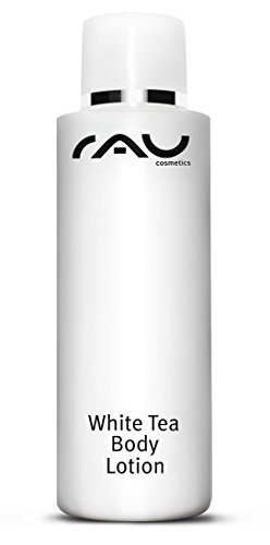 RAU Body Emulsion 200 ml - Rich luxurious skin care for your body with white tea, cranberry oil, aloe vera and kudzu root for perfect body care - NEW