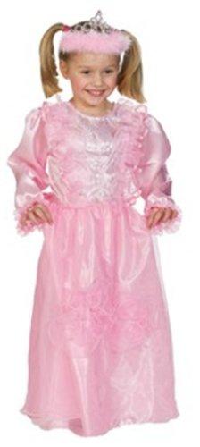 Rubies 1 2214 140 - Prinzessin Rosalie Größe - Rosalie Kostüm
