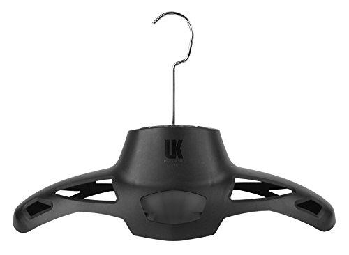 UK HangAir Bügel mit Ventilator und Netzteil schwarz für Tauch-Ski-Motorradanzug, 24062