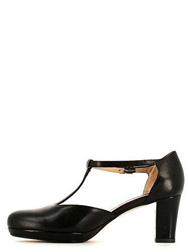 GRACE SHOES 958NNF Sandalo tacco Donna Nero