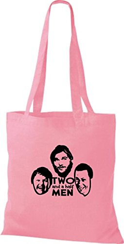 Shirtinstyle  Baumwolltasche, Cabas pour femme - classic pink