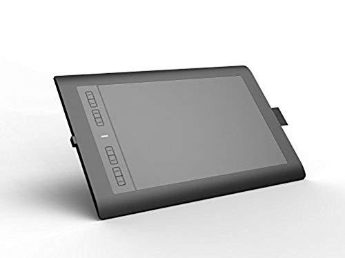 """Ugee M708 10x6\"""" Grafiktablett 8 Express-Keys Für linke und rechte Hand benutzen (5080 LPI 2048 Druckstufen) mit Stift MAC & Windows"""