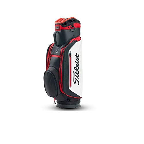 5a8ca6cd625839 TITLEIST Lightweight Golf Club 14 Golfwagentasche, Herren, Herren,  TB8CT4E-016, Schwarz