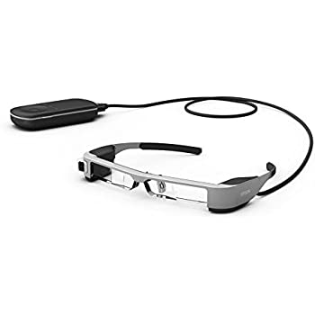 4ae4d8feeef Epson Moverio BT-300 Augmented Reality Glasses with an OLED Display -  Black Transparent