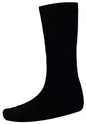Men's Wellington Acrlyic Sock Black 6-11