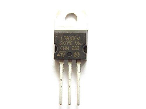 STM L7810Cv Regler 10 V 1,5 A POS zu-220 (möglich Tca700Y Ersatz * Siehe Note) - Stm-ersatz
