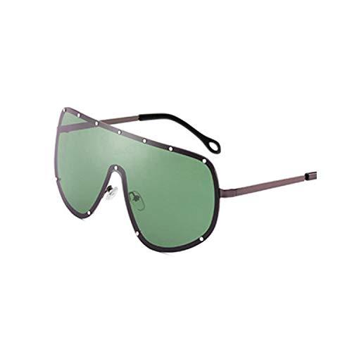 FGRYGF-eyewear2 Sport-Sonnenbrillen, Vintage Sonnenbrillen, Oversized Series Unisex Pilot Polarized Sunglasses Oculos NEW Vintage Luxury WoMänner Männer Brand Designer Sun Glasses UV400 C4 Grey.Green