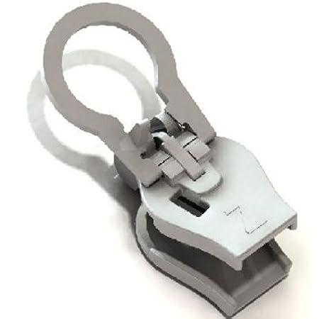 10 Stück Metall Zipper Reißverschluß Salmi Metall