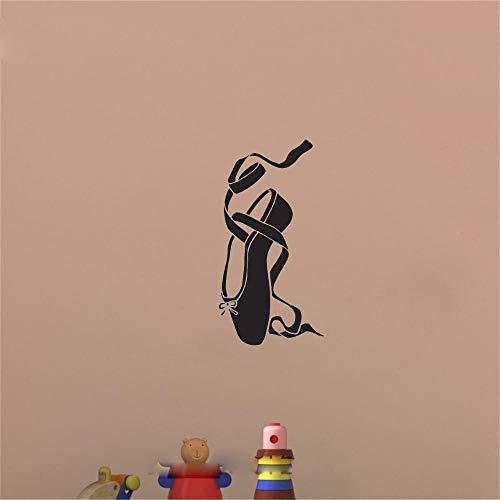 adesivo murale adesivo muro Ballerina Ballerine Scarpe da ginnastica Casa da ballo Stanze per bambini Arredamento Soggiorno Camera da letto per ragazze Sala da ballo