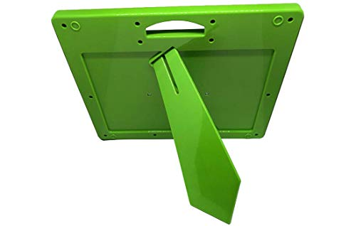 Piepmatz und Grünschnabel Magnetzeichentafel | Magnetische Zaubertafel mit Kugeln + Stift | pädagogisches Spiel ab 3 Jahre | Grün