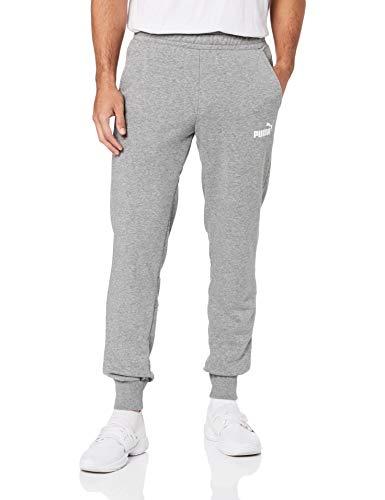 Puma Herren Amplified Sweat Pants TR Jogginghose, Medium Gray Heather, M -
